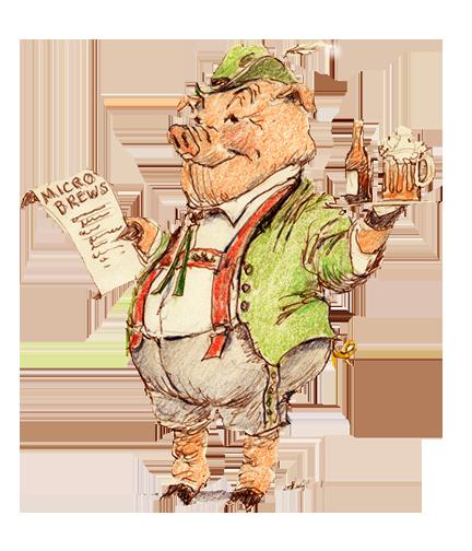 pig-beer