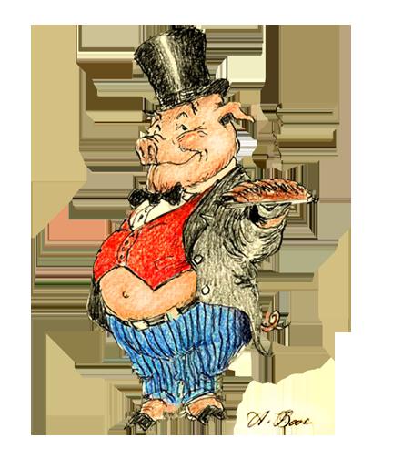 pig-top-hat
