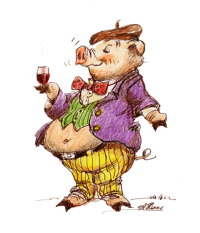 pig-wine-snob